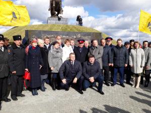 В Ставропольском крае открыли памятник атаману Матвею Ивановичу Платову