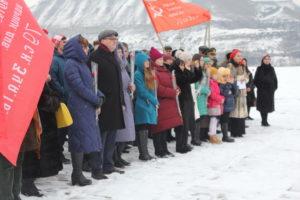 15 января в КЧР состоялся митинг памяти павших при освобождении Северного Кавказа в годы Великой Отечественной войны.