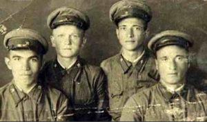 АНДРУХАЕВ Х.Б. (адыг) – участник Великой Отечественной войны.