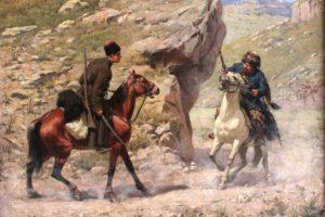 Как гребенские казаки в самоволку ходили
